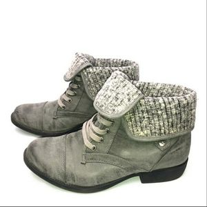 Rocket Dog Gray boots/booties